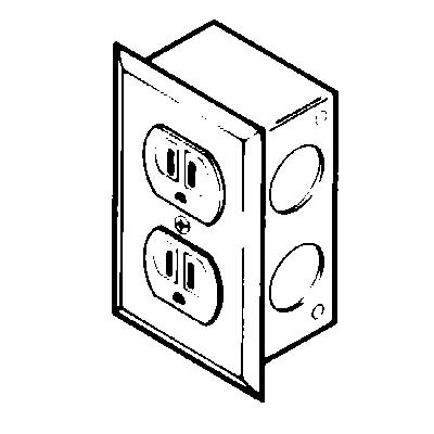 2834800 - Duplex Electrical Receptacle Kit