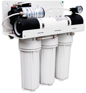 RO10P1 - Complete Reverse Osmosis System with pump